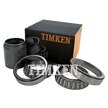 Timken Matched Bearing Set 600 and 601 with Spacer, RDTC2