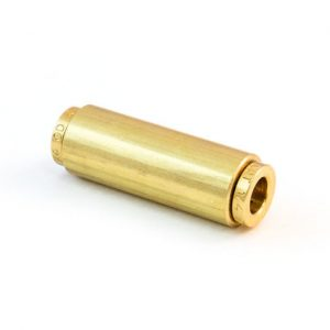 Straight Union Quick Connect Brass Female Connector  1/4 inch