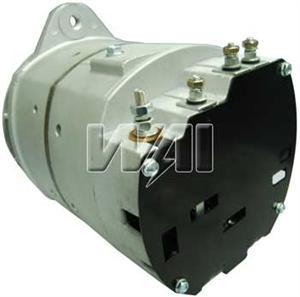WAI 8607N NEW 35 SI ALTERNATOR 140 AMP  12 VOLT, J- MOUNT, 8607,