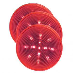 "Grote 2.5"" LED Red Clearance Marker Light"