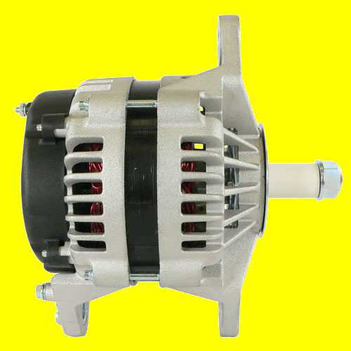 WAI 8718N New 24 SI Alternator 160 AMP 100 AMP at Idle 12 Volt, J-Mount, 8718,